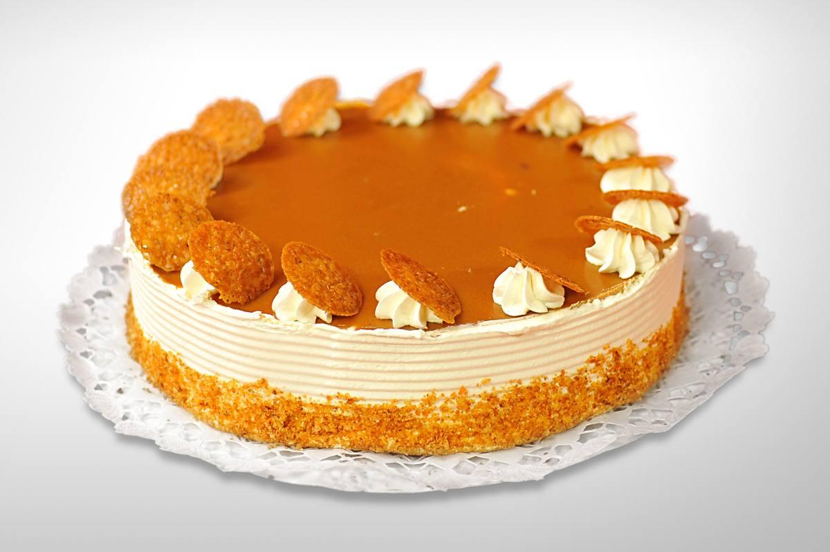 Milotai mézes dió torta